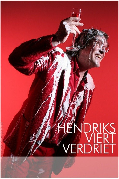Poster Hendriks viert verdriet Foto:Wim Roefs